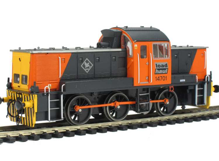 Heljan 00 1407 Class 14 'Teddy Bear' 14701 Load Haul. Limited Edition of 200 Date: 00's
