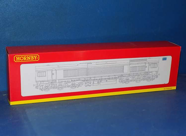 Hornby 00 R2861 Class 59 59001 'Yeoman Endeavour' in Hanson Aggregate Industries livery Date: 00's