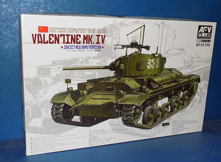 AFV Club Valentine Mk.IV - Soviet Red Army