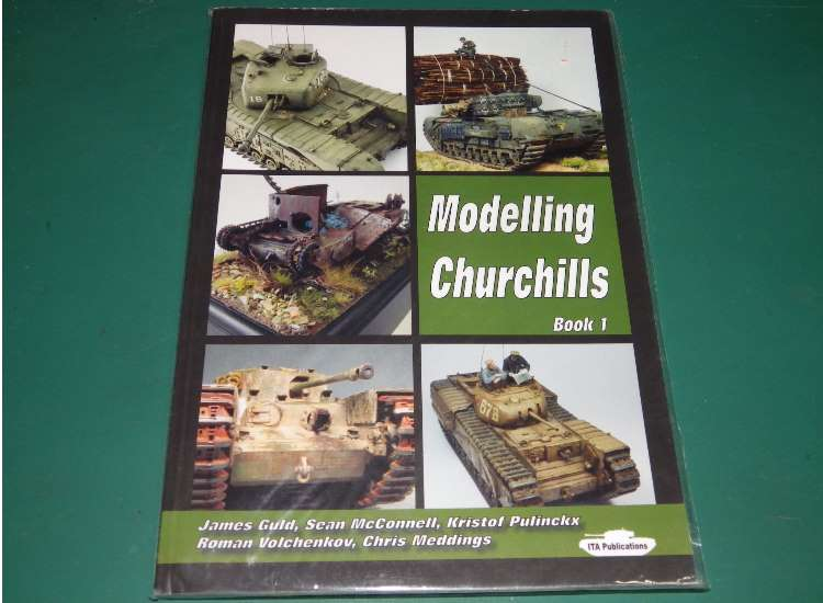 Books Modelling Churchills Book 1 w/ Decals