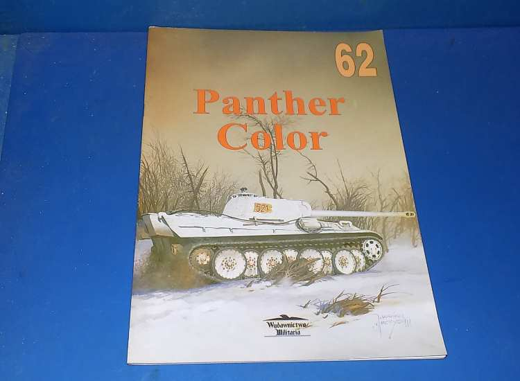 Wydawnictwo Militaria No 62 - Panther Color (Polish Text)