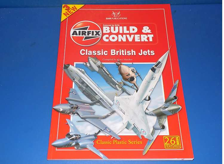 SAM Airfix Build & Convert 3 - Classic British Jets