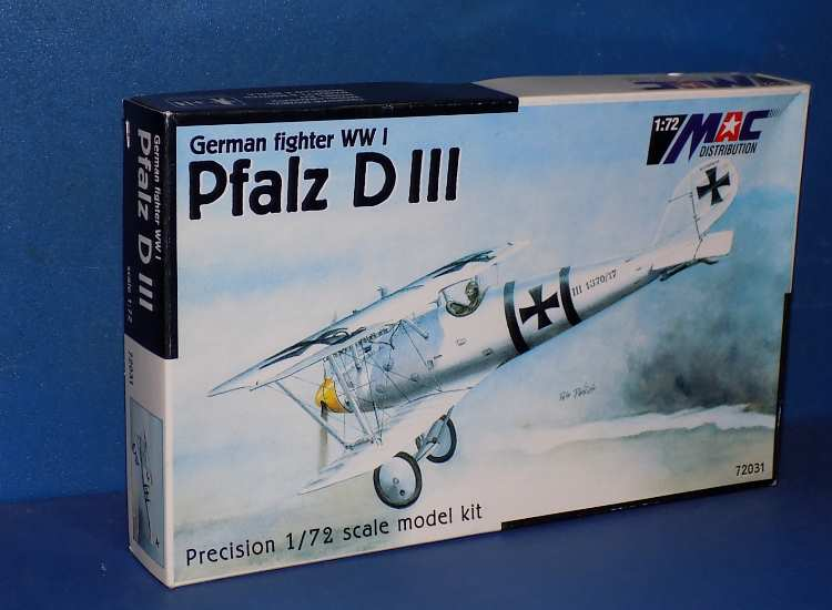 Mac Distribution Pfalz D.III