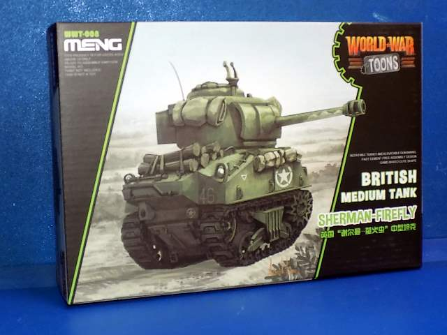 British Tank Sherman Firefly - World War Toon