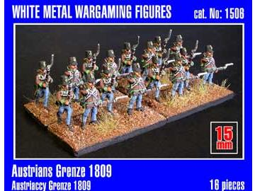 Mirage Hobby 15mm 01506 Austrian Grenadiers 1809 x16