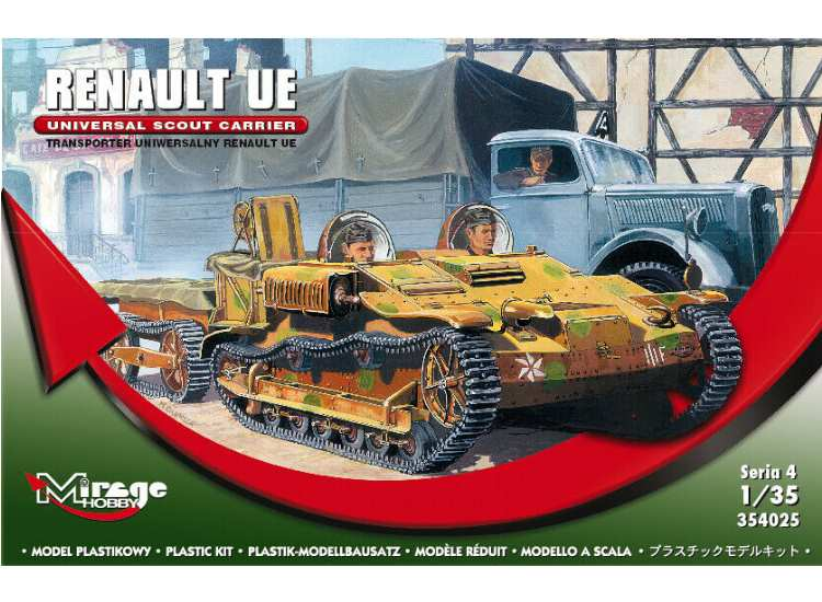 Mirage Hobby Renault UE Universal Scout Carrier 354025