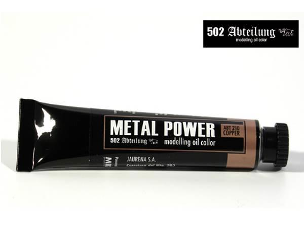 Mig Productions na ABT210 Abteilung Oil Colour - Metal Power Copper