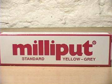 Milliput 113g 801 Standard 2 Part Expoy Putty / Filler