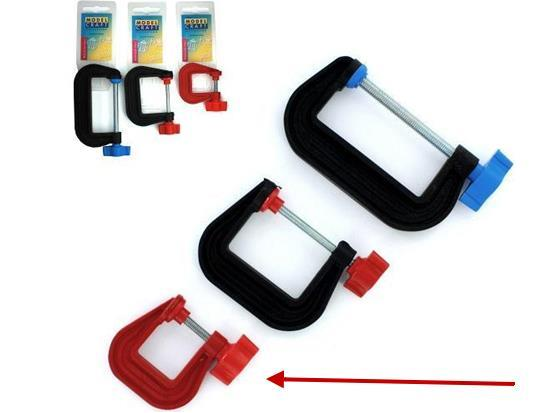 "Plastic G-Clamp 25mm (1.0"")"