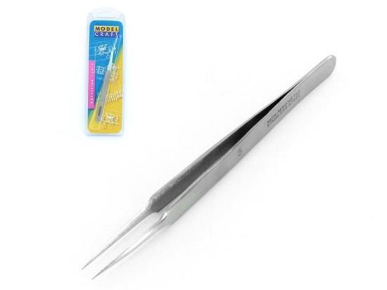 Super Fine Stainless Steel Tweezers (110mm) no.5