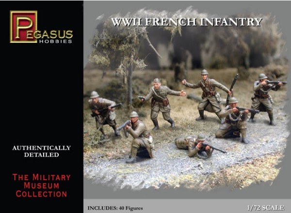 Pegasus Hobbies French Infantry WWII
