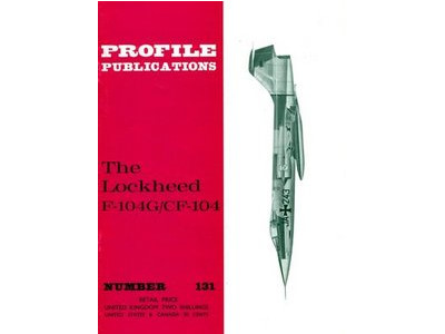 Profile Publications na 131 131 - The Lockheed F-104G/CF-104