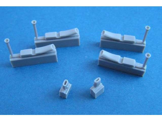 Pavla Blenheim Mk. I engine exhaust and intakes for Airfix Model U72160