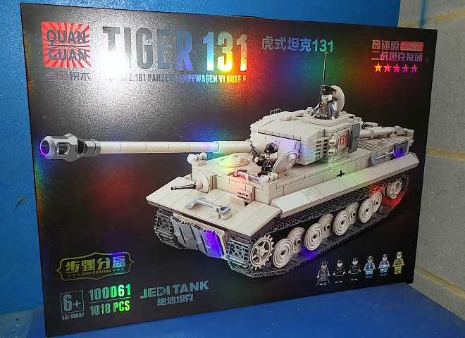 Tiger 131 - 1018pcs - Compatible Blocks