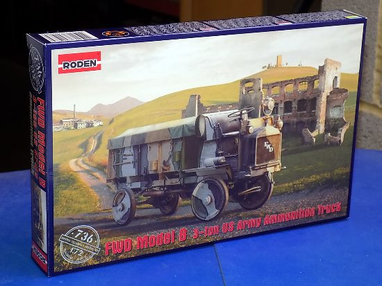 Roden FWD Model B 3 Ton US Army Ammunition Truck