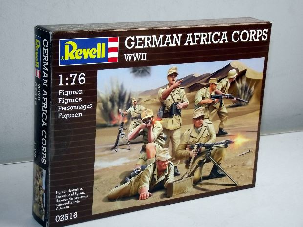 German Africa Corps WWII