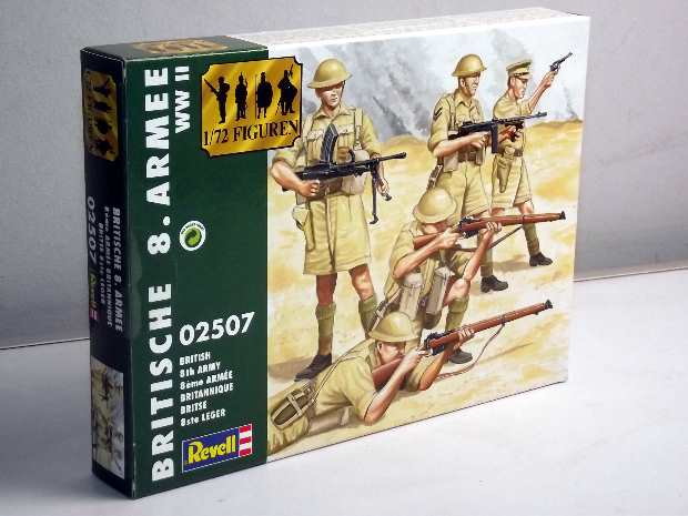 Revell 1/72 2507 WWII BRITISH 8th Army