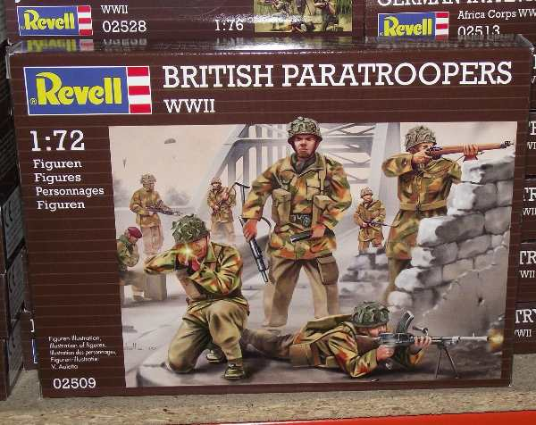 Revell 1/72 2509 British Paratroopers WWII