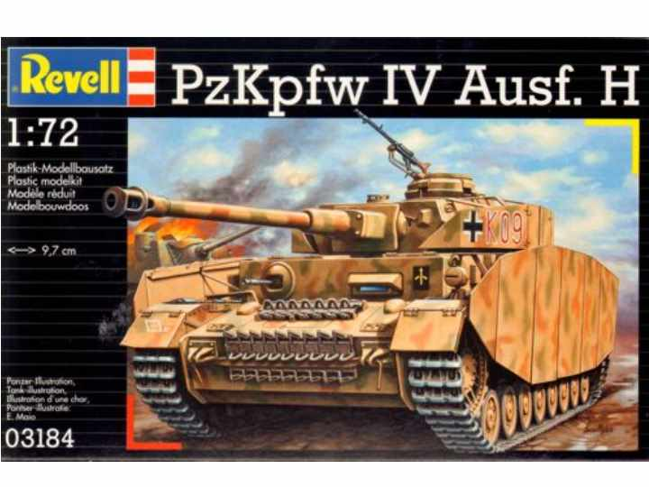 Revell German PzKpfw IV Ausf H 3184
