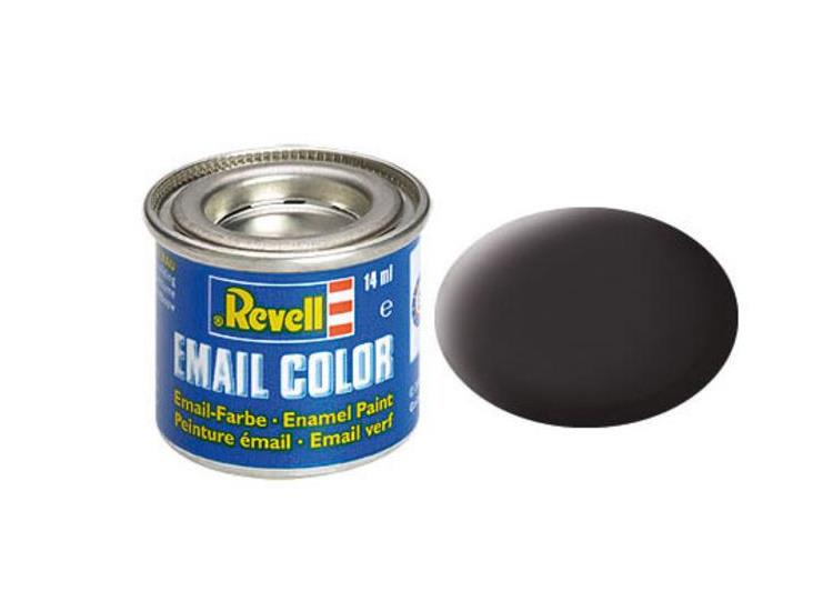 06 Tar Black Matt Enamel Paint