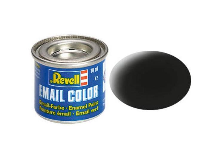Revell 14ml 32108 08 Black  Matt Enamel Paint