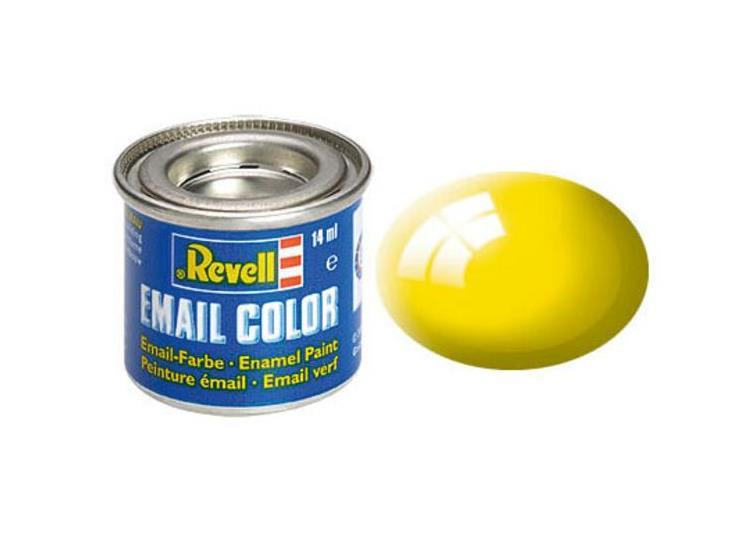 12 Yellow Gloss Enamel Paint