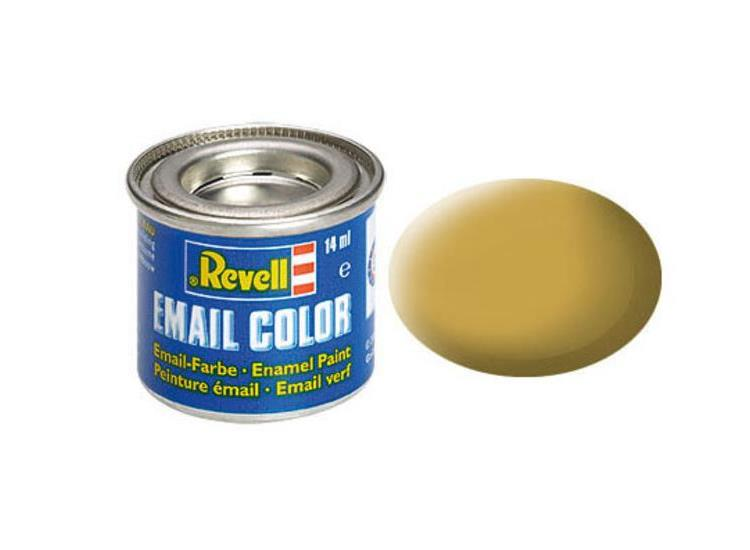 Revell 14ml 32116 16 Sandy Yellow Matt Enamel Paint