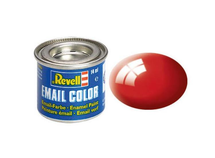 Revell 14ml 32131 31 Fiery Red Gloss Enamel Paint