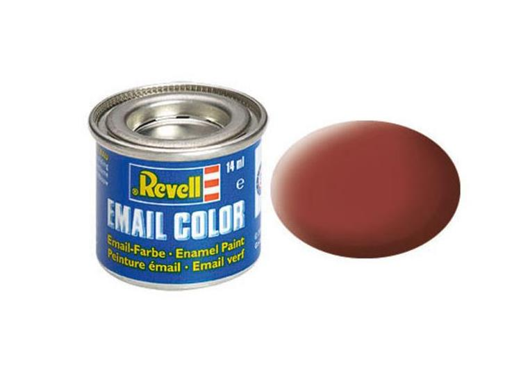 Revell 14ml 32137 37 Reddish Brown  Matt Enamel Paint