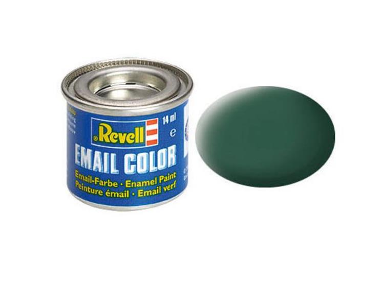 Revell 14ml 32140 40 Black-Green Matt Enamel Paint