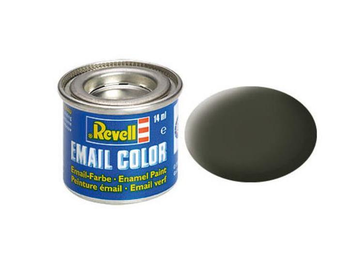 Revell 14ml 32142 42 Olive Yellow Matt Enamel Paint