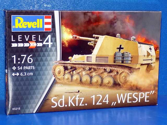 Revell Sd.Kfz 124 Wespe - Model Kit