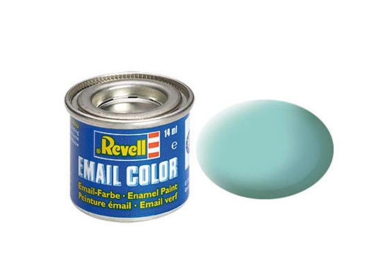 Revell 14ml 32155 55 Light Green Matt Enamel Paint