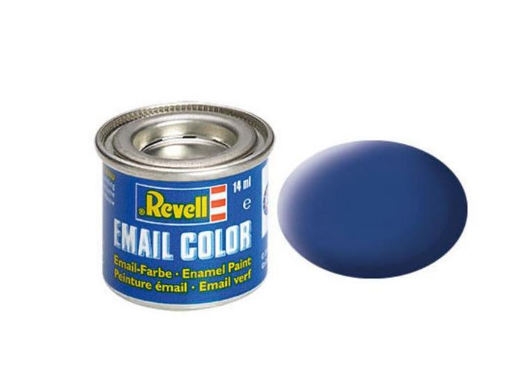 Revell 14ml 32156 56 Blue Matt Enamel Paint
