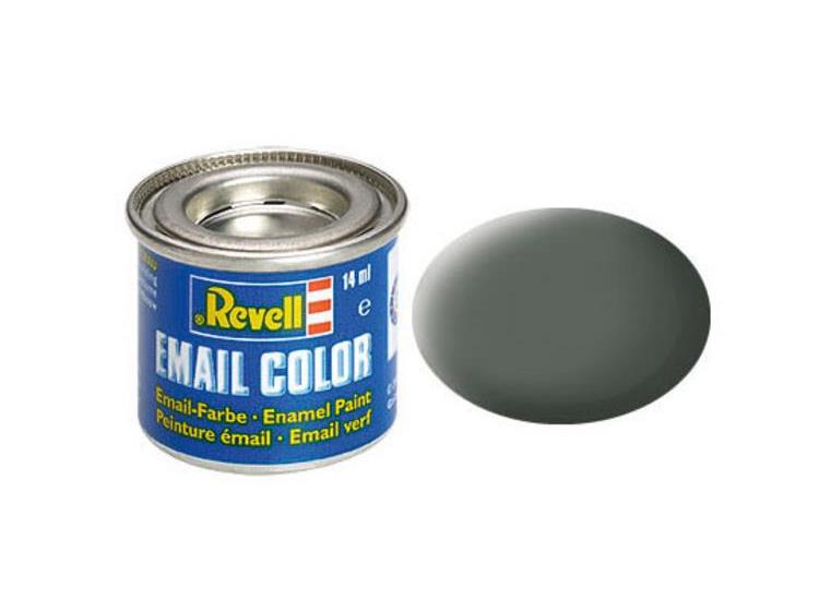 Revell 14ml 32166 66 Olive Grey Matt Enamel Paint