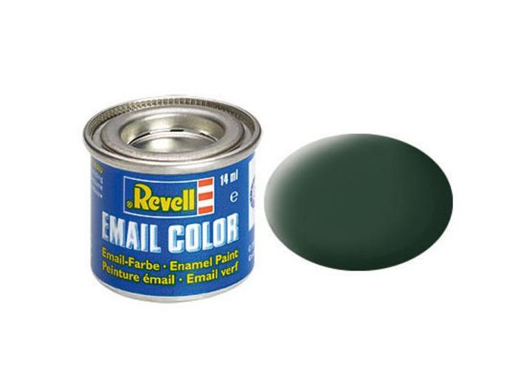 Revell 14ml 32168 68 Dark Green Matt RAF Enamel Paint