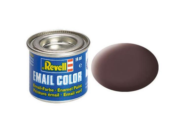 Revell 14ml 32184 84 Leather Brown Matt Enamel Paint