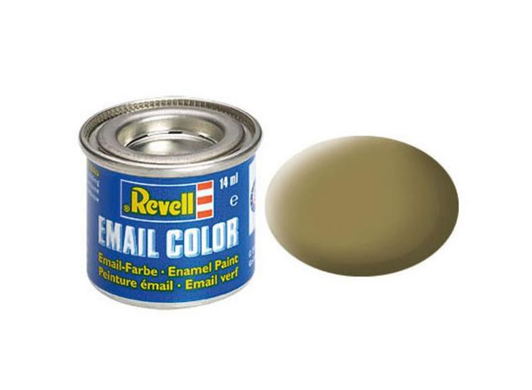 Revell 14ml 32186 86 Olive Brown Matt Enamel Paint