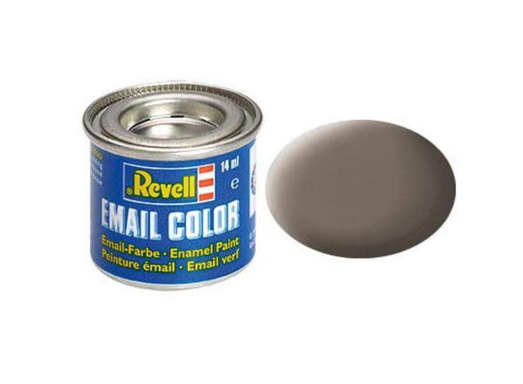 Revell 14ml 32187 87 Earth Brown Matt Enamel Paint