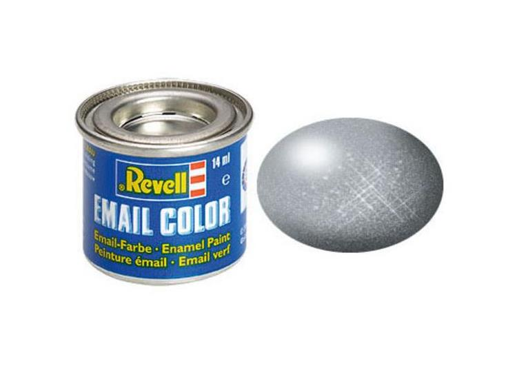 Revell 14ml 32191 91 Steel Metallic Enamel Paint