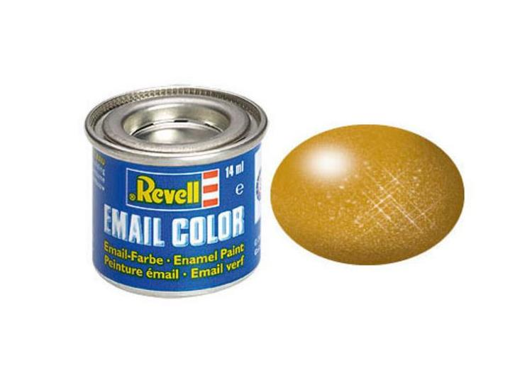 Revell 14ml 32192 92 Brass Metallic Enamel Paint