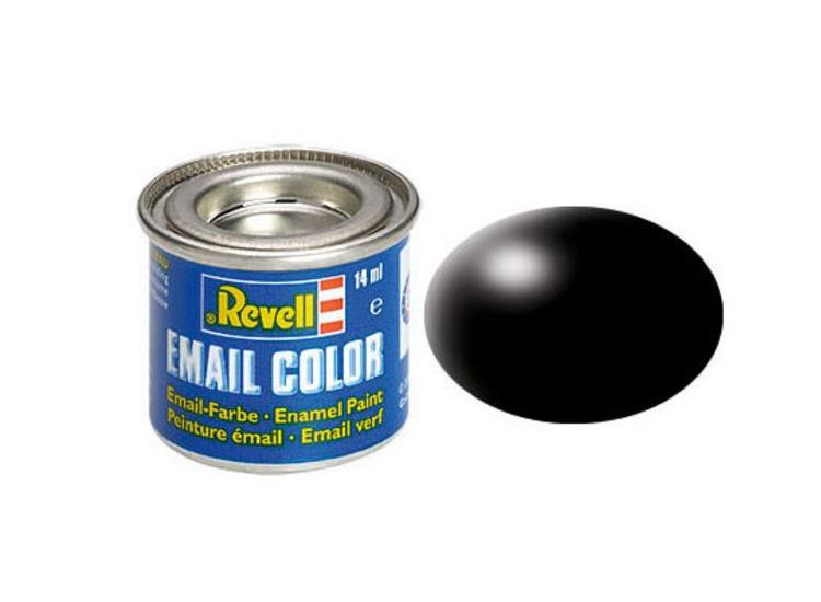 Revell 14ml 32302 302 Black Silk Enamel Paint