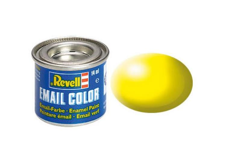 Revell 14ml 32312 312 Luminous Yellow  Silk Enamel Paint