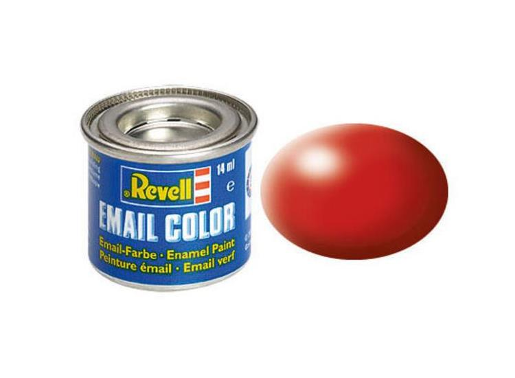 Revell 14ml 32330 330 Fiery Red Silk Enamel Paint