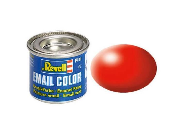 Revell 14ml 32332 332 Luminous Red Silk Enamel Paint