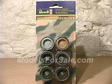 Revell 14ml x6 32340 Military Paint Set