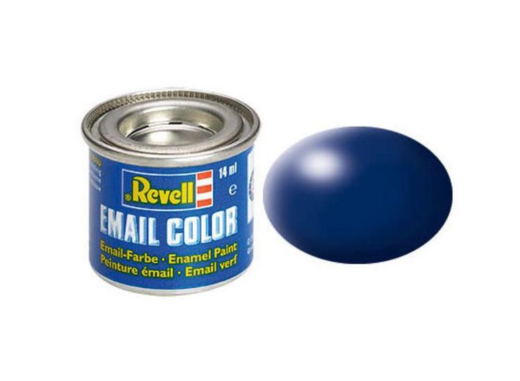 Revell 14ml 32350 350 Dark Blue  Silk Enamel Paint