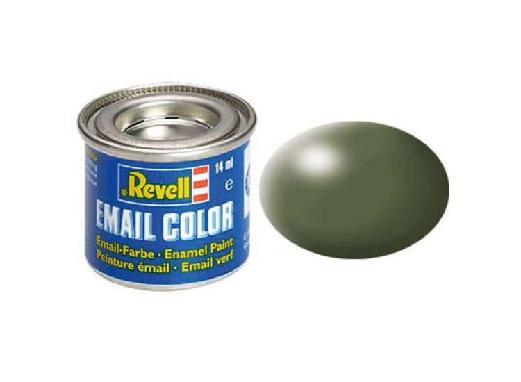 Revell 14ml 32361 361 Olive Green Silk Enamel Paint