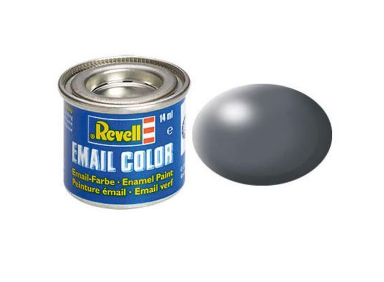 Revell 14ml 32378 378 Dark Grey Silk Enamel Paint