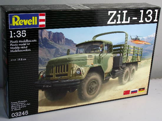 Revell 1/35 Zil-131 Russian / East German Army Truck 3245